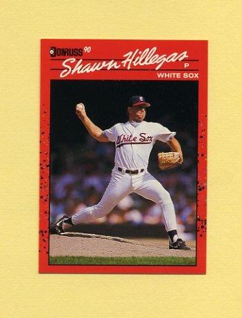 1990 Donruss Baseball #619 Shawn Hillegas - Chicago White Sox
