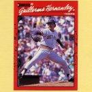 1990 Donruss Baseball #610 Guillermo Hernandez - Detroit Tigers