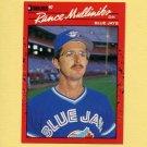1990 Donruss Baseball #607 Rance Mulliniks - Toronto Blue Jays