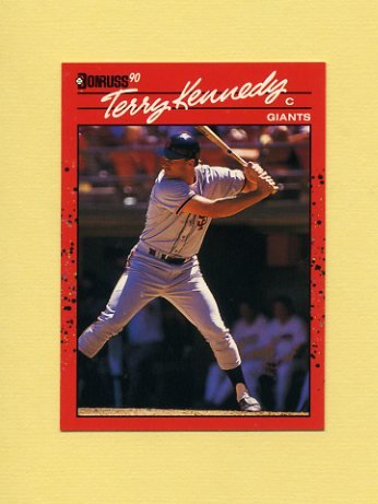 1990 Donruss Baseball #602 Terry Kennedy - San Francisco Giants