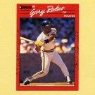 1990 Donruss Baseball #597 Gary Redus - Pittsburgh Pirates