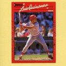 1990 Donruss Baseball #595 Luis Quinones - Cincinnati Reds