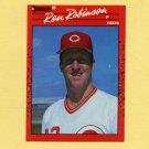 1990 Donruss Baseball #553 Ron Robinson - Cincinnati Reds