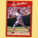 1990 Donruss Baseball #493 Tim Birtsas - Cincinnati Reds
