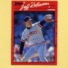 1990 Donruss Baseball #417 Jeff M. Robinson - Detroit Tigers