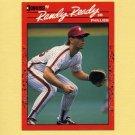1990 Donruss Baseball #396 Randy Ready - Philadelphia Phillies