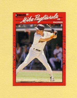 1990 Donruss Baseball #364 Mike Pagliarulo - San Diego Padres