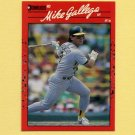 1990 Donruss Baseball #361 Mike Gallego - Oakland A's