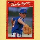 1990 Donruss Baseball #336 Randy Myers - New York Mets