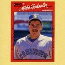 1990 Donruss Baseball #330 Mike Schooler - Seattle Mariners