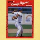 1990 Donruss Baseball #283 Kenny Rogers - Texas Rangers