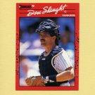 1990 Donruss Baseball #277 Don Slaught - New York Yankees