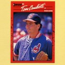 1990 Donruss Baseball #256 Tom Candiotti - Cleveland Indians