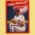 1990 Donruss Baseball #251 Roger McDowell - Philadelphia Phillies