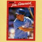 1990 Donruss Baseball #238 Jim Eisenreich - Kansas City Royals