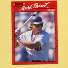 1990 Donruss Baseball #229 Mark Parent - San Diego Padres