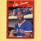 1990 Donruss Baseball #228 Ellis Burks - Boston Red Sox