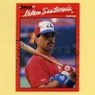 1990 Donruss Baseball #224 Nelson Santovenia - Montreal Expos
