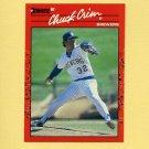1990 Donruss Baseball #221 Chuck Crim - Milwaukee Brewers
