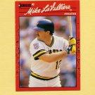 1990 Donruss Baseball #211 Mike LaValliere - Pittsburgh Pirates