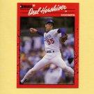 1990 Donruss Baseball #197 Orel Hershiser - Los Angeles Dodgers