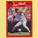 1990 Donruss Baseball #196 Eric Plunk - New York Yankees