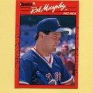 1990 Donruss Baseball #186 Rob Murphy - Boston Red Sox