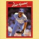 1990 Donruss Baseball #179 Luis Aquino - Kansas City Royals