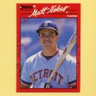 1990 Donruss Baseball #178 Matt Nokes - Detroit Tigers