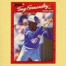 1990 Donruss Baseball #149 Tony Fernandez - Toronto Blue Jays