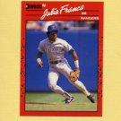 1990 Donruss Baseball #142 Julio Franco - Texas Rangers