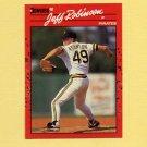 1990 Donruss Baseball #134 Jeff D. Robinson - Pittsburgh Pirates
