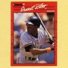 1990 Donruss Baseball #131 Ernest Riles - San Francisco Giants