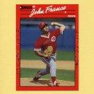 1990 Donruss Baseball #124 John Franco - Cincinnati Reds