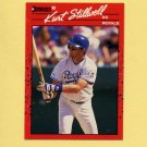 1990 Donruss Baseball #120 Kurt Stillwell - Kansas City Royals