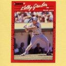 1990 Donruss Baseball #113A Kelly Gruber - Toronto Blue Jays ERR