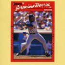1990 Donruss Baseball #104 Geronimo Berroa - Atlanta Braves