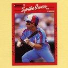 1990 Donruss Baseball #102 Spike Owen - Montreal Expos