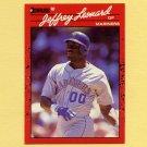 1990 Donruss Baseball #093 Jeffrey Leonard - Seattle Mariners