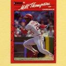 1990 Donruss Baseball #082 Milt Thompson - St. Louis Cardinals