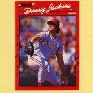 1990 Donruss Baseball #080 Danny Jackson - Cincinnati Reds
