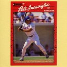 1990 Donruss Baseball #048 Pete Incaviglia - Texas Rangers