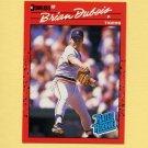 1990 Donruss Baseball #038 Brian DuBois RC - Detroit Tigers