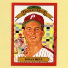 1990 Donruss Baseball #021 Tommy Herr DK - Philadelphia Phillies