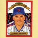 1990 Donruss Baseball #018 Howard Johnson DK - New York Mets