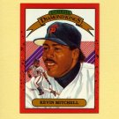 1990 Donruss Baseball #011 Kevin Mitchell DK - San Francisco Giants