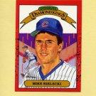 1990 Donruss Baseball #009 Mike Bielecki DK - Chicago Cubs