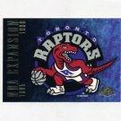 1995-96 Skybox Premium Basketball #143 Toronto Raptors