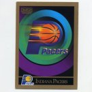1990-91 SkyBox Basketball #338 Indiana Pacers Team Checklist