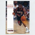 1993-94 SkyBox Premium Basketball #272 James Robinson RC - Portland Trail Blazers